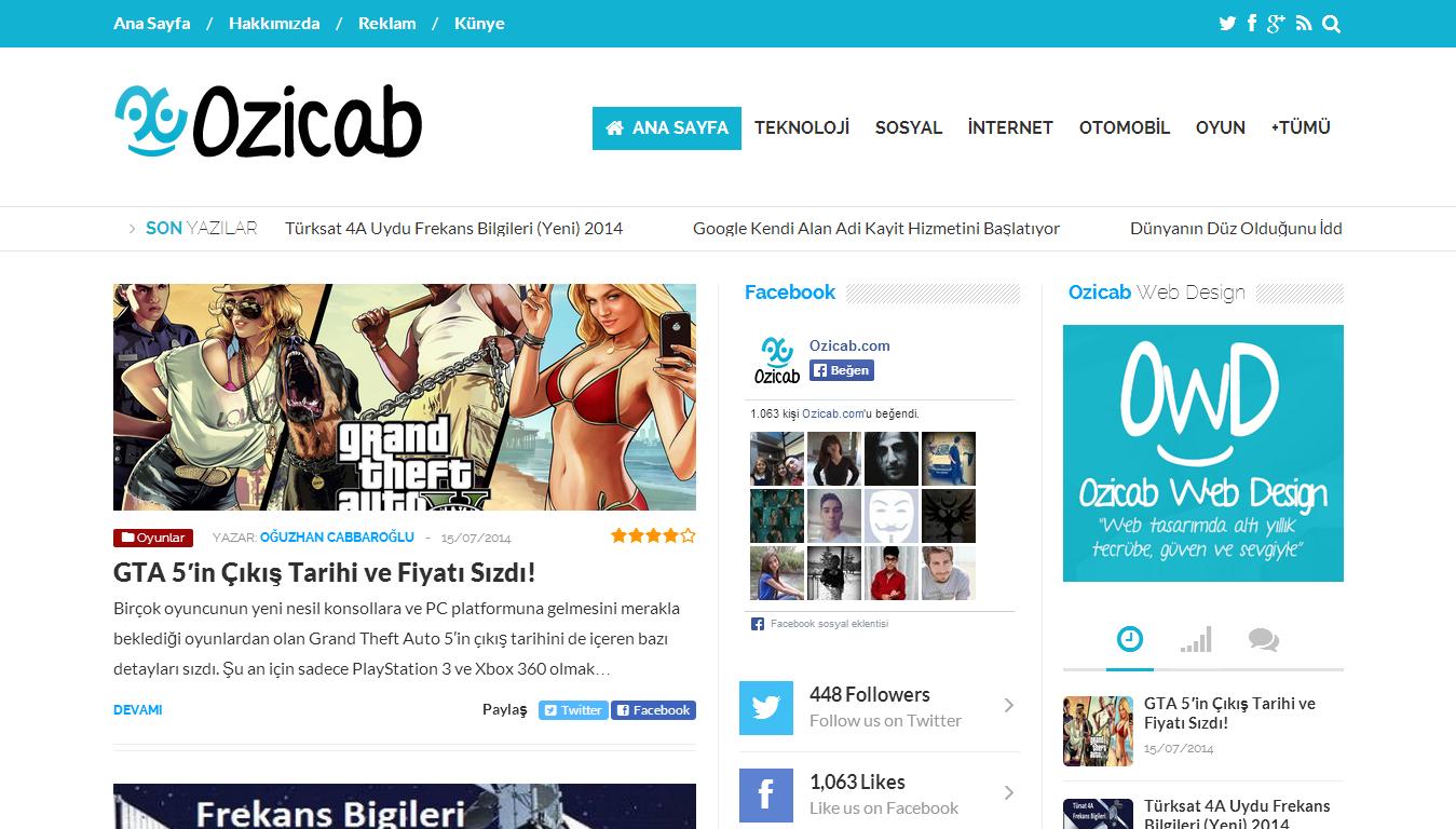 Ozicab.com
